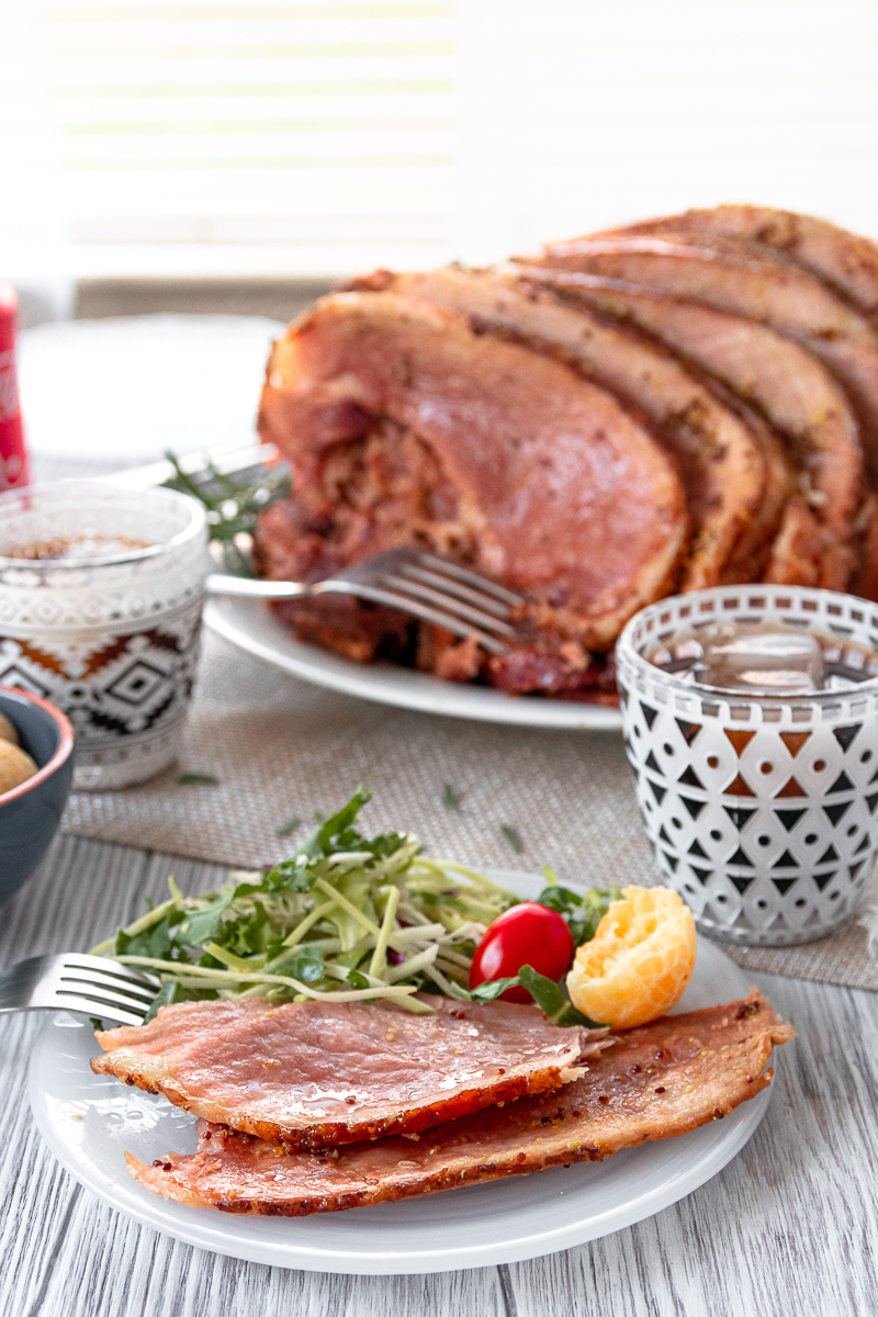 easy slow cooker spiral ham with coca-cola