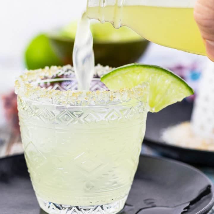 Make fab margaritas at home with your own mix!