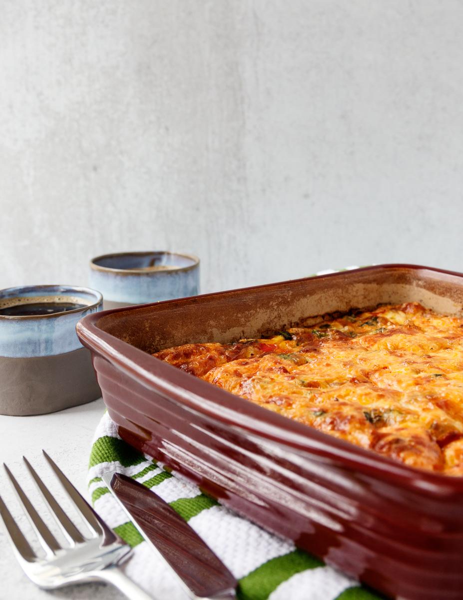 easy sausage egg casserole recipe