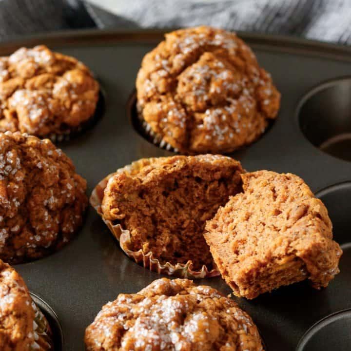 moist vegan pumpkin muffins small batch recipe