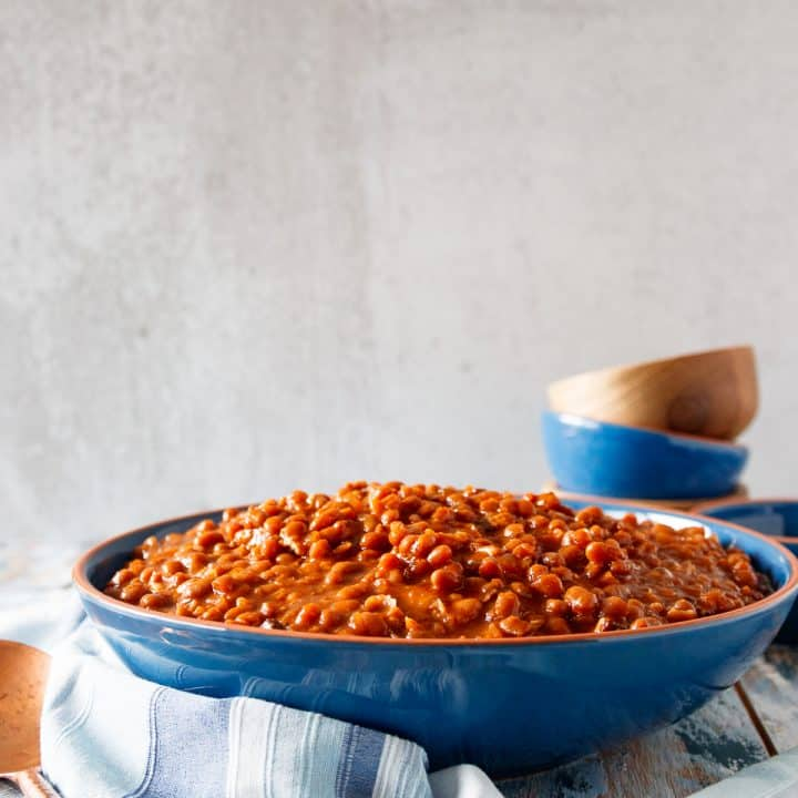Slow Cooker Baked Beans From Scratch