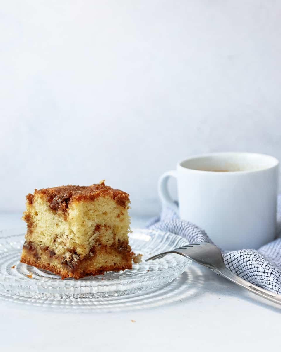 Easy Sour Cream Coffee Cake Goodie Godmother