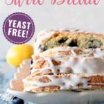 lemon blueberry swirl bread pin image