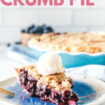 blueberry pie pin image with text