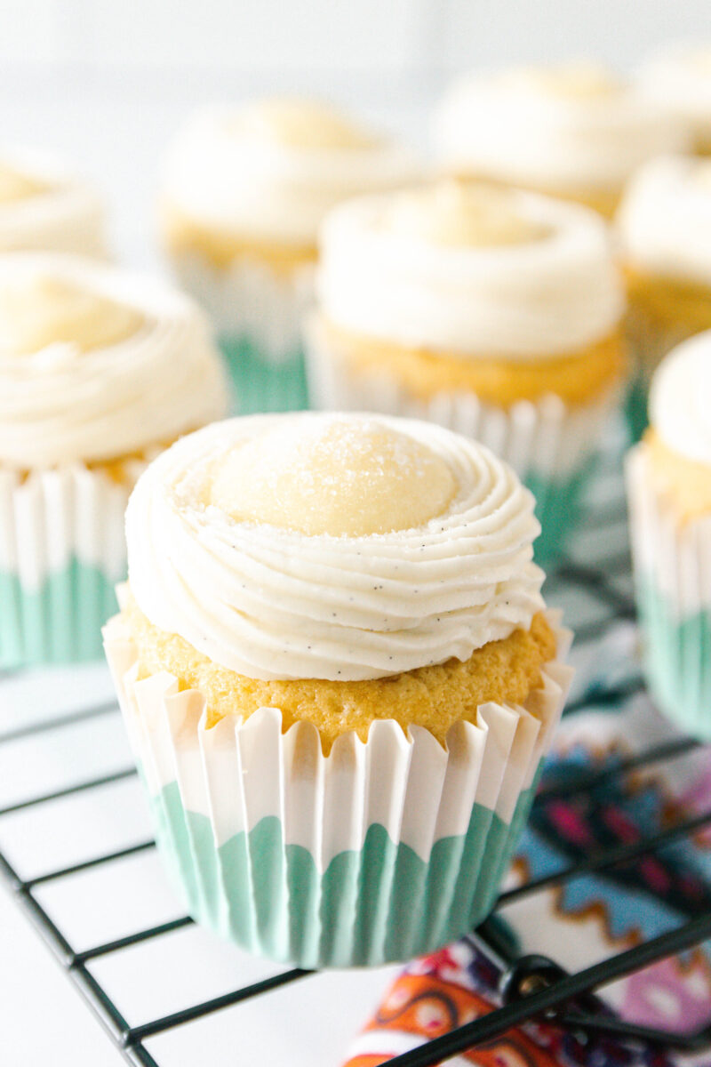 sugar dusted creme brulee cupcakes read for the kitchen torch!